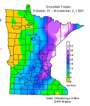 25 Years Ago: A Perfect Storm, an Unnamed Hurricane, and a Historic Halloween Midwest Blizzard