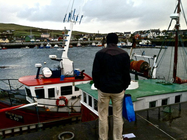 My brother in Dingle Harbor