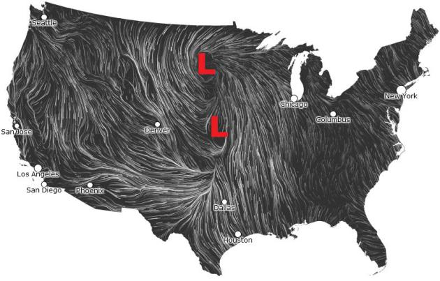 Oklahoma Wind Map.Not Out Of The Woods Yet More Showers Storms Thru Early Week