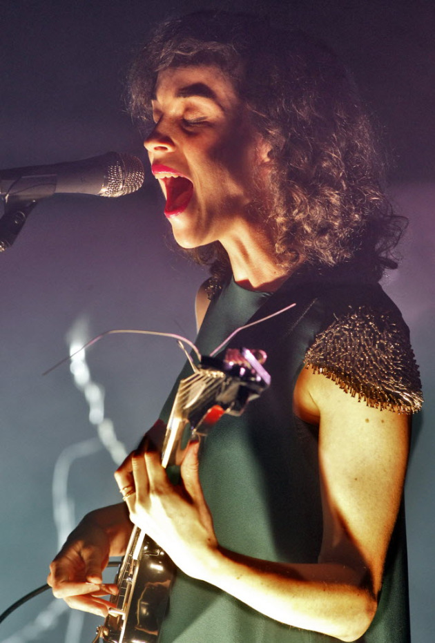 Annie Clark as St. Vincent at Walker Art Center last fall. / Marlin Levison, Star tribune