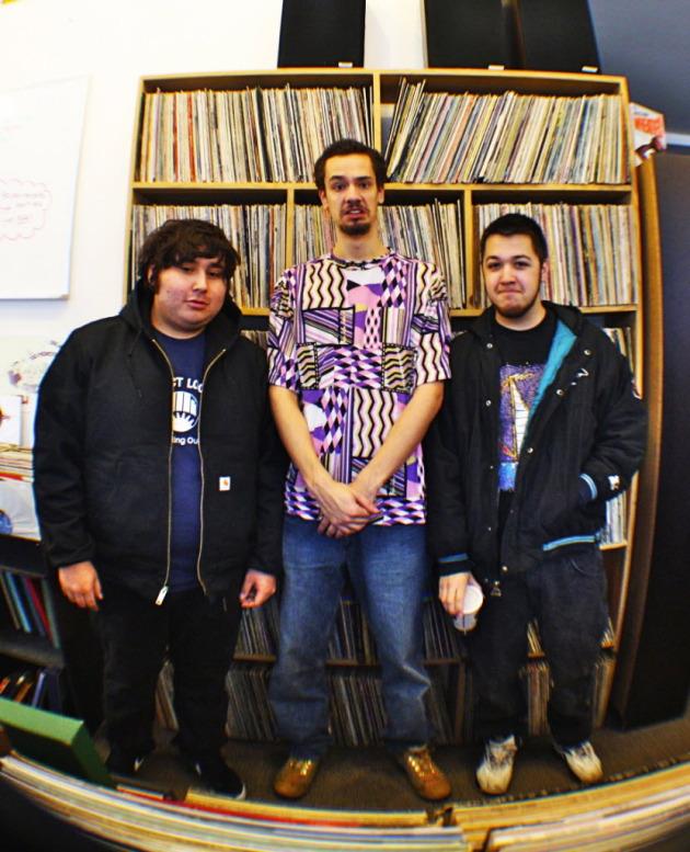Future rock stars?: Audio Perm's core producers. / Photo by Leah Tremmel