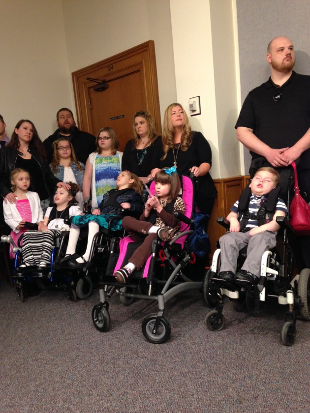 Parents of ailing children press for legalization of medical marijuana