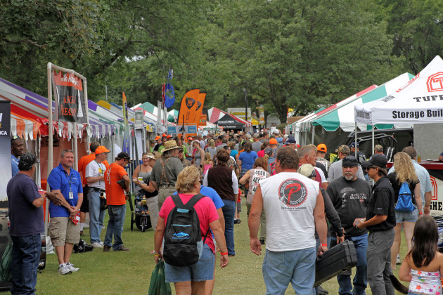 Beautiful weather kept the crowds happy during Game Fair's first weekend. Exhibitors and organizers are hoping for a repeat performance from Mother Nature the final weekend of the event August 16, 17 and 18.