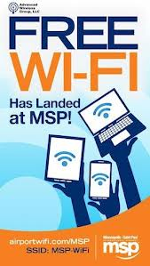 Signs introduce free Wi-Fi service at MSP