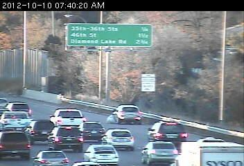 35W north at Lake St. in Minneapolis