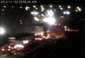 A semitrailer truck is involved in a crash on 694 at Century Avenue.