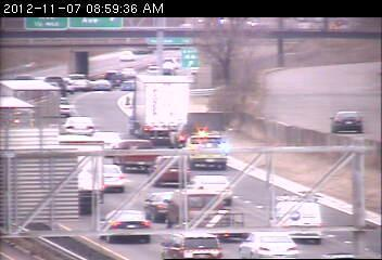 Westbound 494 at Penn Avenue.