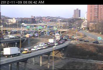 35W north at Hiawatha