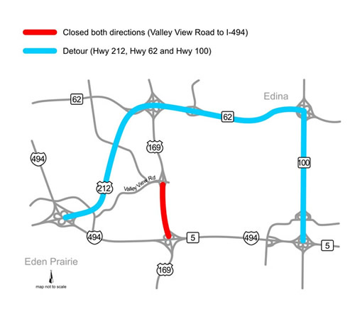 The Hwy. 169 detour 