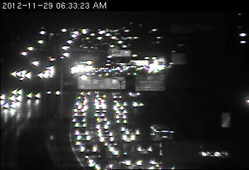 A backup on 94 at Johnson Pkwy.