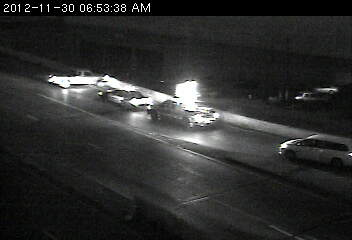 Wreck at 94 and 52 in St. Paul.