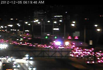 Traffic is backed up on 35W north beginning at Diamond Lake Road