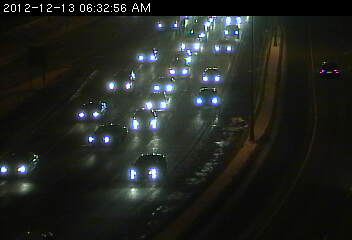 Eastbound 94 at Mounds Blvd. in St. Paul.