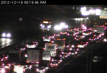 Traffic on southbound 35W 