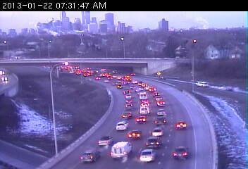 35W at Johnson Street