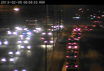 Crash on 35E at University Av. in St. Paul