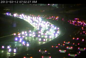 Eastbound 494 at Penn Avenue.