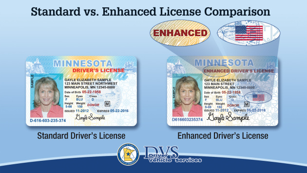 Minnesota to offer enhanced driver's licenses, ID cards