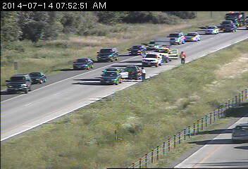 7:50 a m  update: Oakdale crash has both lanes of 694