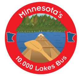 Megabus honors Minnesota with 'The 10,000 Lakes Bus' - StarTribune com