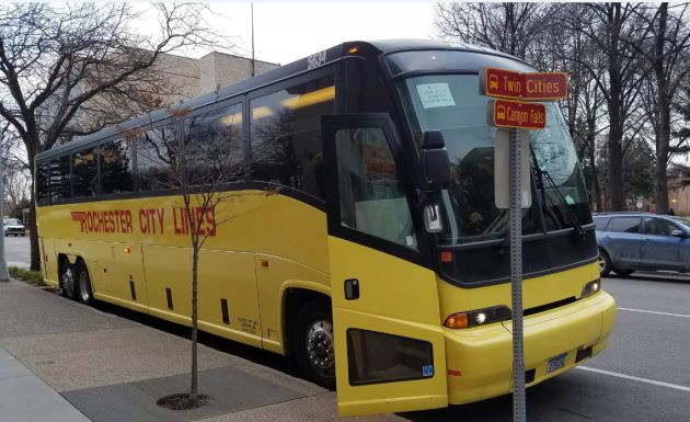 Fifth trip now available for Twin Cities-Rochester bus commuters