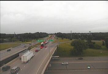 Tuesday traffic: Hwy  41 over Minnesota River in Chaska