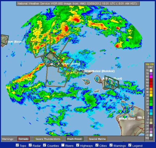 Ask A Flat Earth Theorist Anything - Hawaii radar doppler