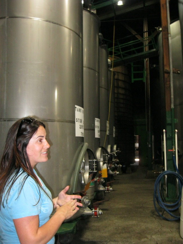 Foppiano fermentation tanks