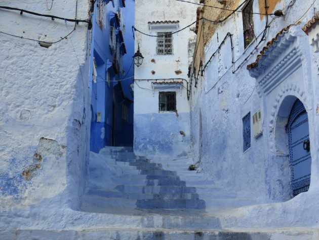 Inside the medina of Chefchaouen