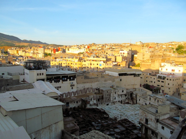Overlooking the Medina
