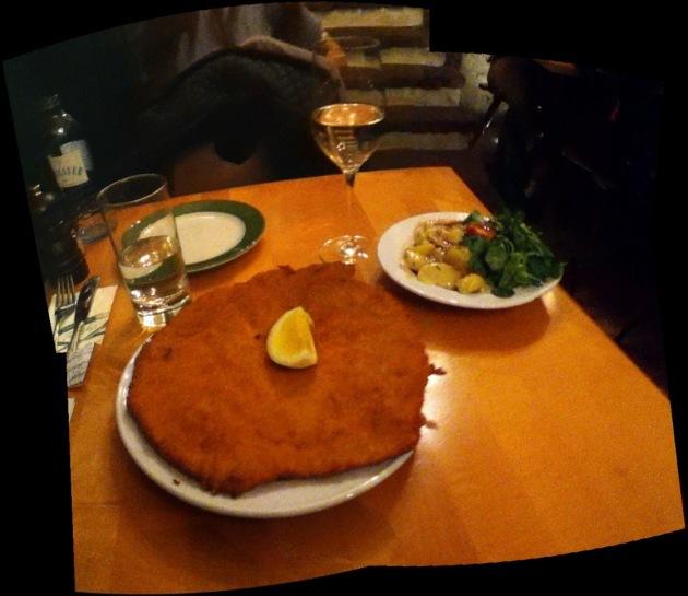 Delicious Weiner Schnitzel.