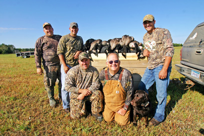 Grab a few friends and hit the fields this September for an early season goose hunt--it will probably become your next waterfowling tradition
