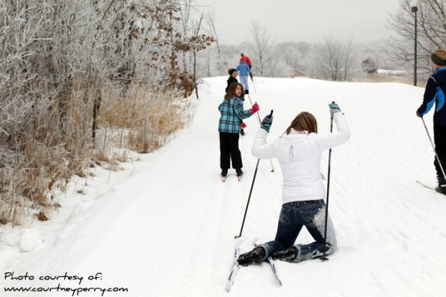 Cross Country Skiing in a Snow-less Minnesota - StarTribune com