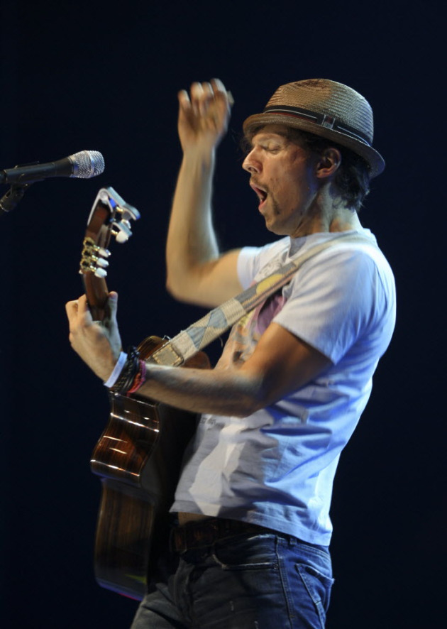 Jason Mraz and his hat. / Star Tribune file