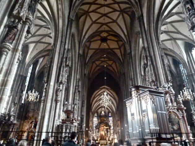 the inside of St. Stephen's- absolutely amazing!
