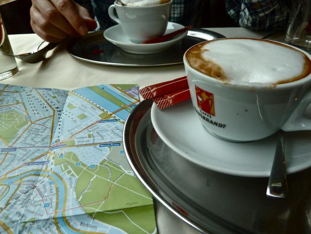 Melange- delicious Austrian coffee