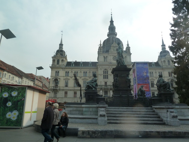 The Rathaus- Town Hall of Graz