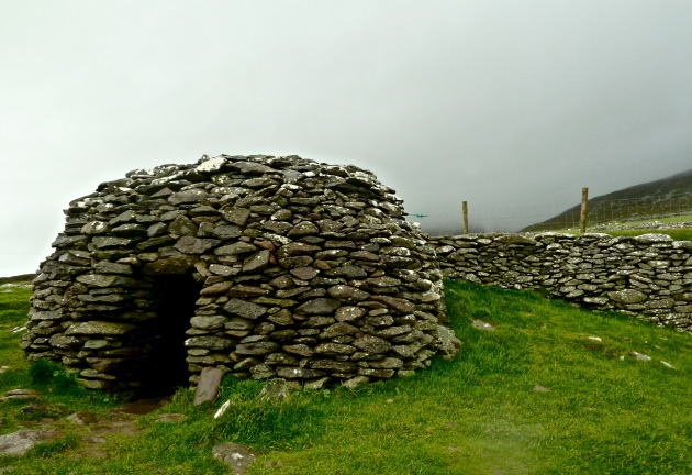 A beehive hut on Slea Head Drive