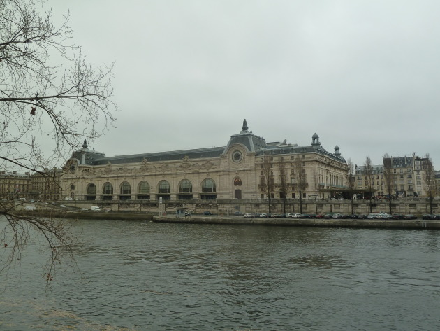 Musee D'Orsay from across the Seine