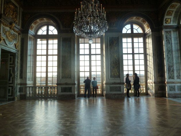 An average room in Versailles.