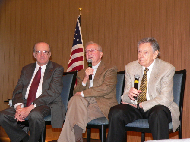 (From l to r) Charles Fodor, Fred Baron, and Dr. Robert Fisch
