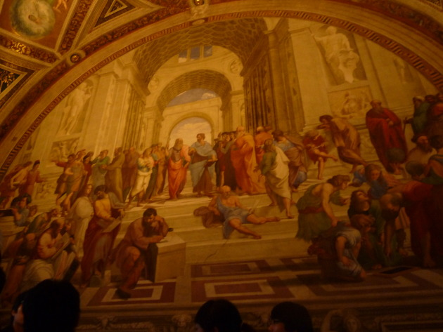 'The School of Athens'