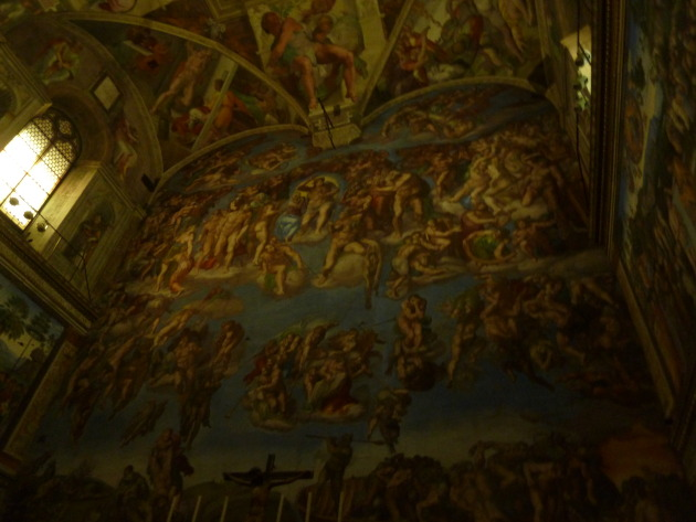 Sorry the picture of the Sistine Chapel is dark! Was I technically allowed to take it? Erm...