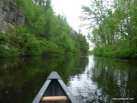 Canoeing on the St. Croix River
