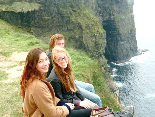 The absolutely stunning Cliffs of Moher
