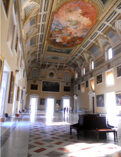 The ballroom in the National Archaeological Museum was one of my favorite rooms, so pretty.