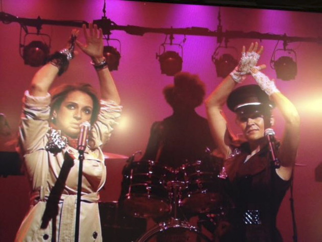 "Maya Rudolph and Gretchen Lieberum performed as Princess recently on ""Late Night With Jimmy Fallon."" / Courtesy NBC"
