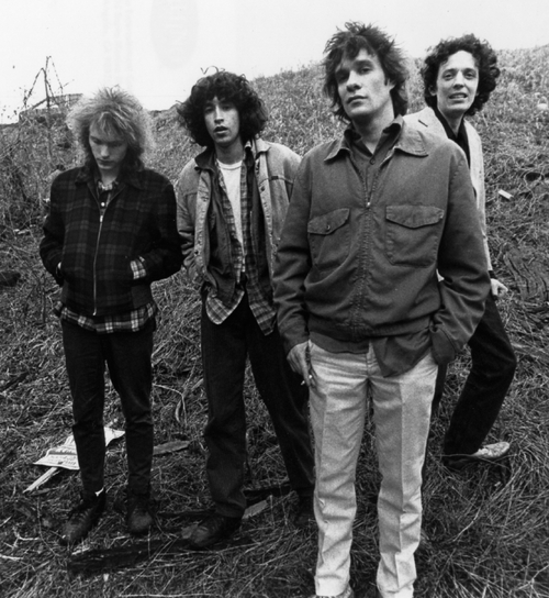 The Replacements circa 1987: Tommy Stinson, Chris Mars, Paul Westerberg, Slim Dunlap.