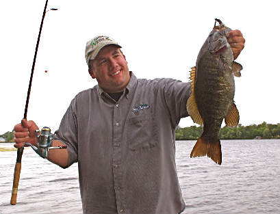 River fishing in late summer is definitely worth checking out for hot smallmouth bass action