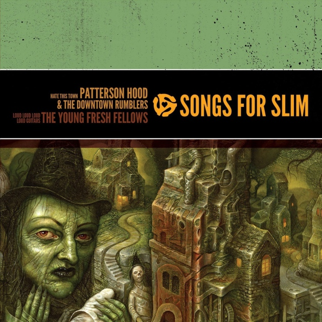 """Songs for Slim"" artwork by Chris Mars (former Replacements drummer)."